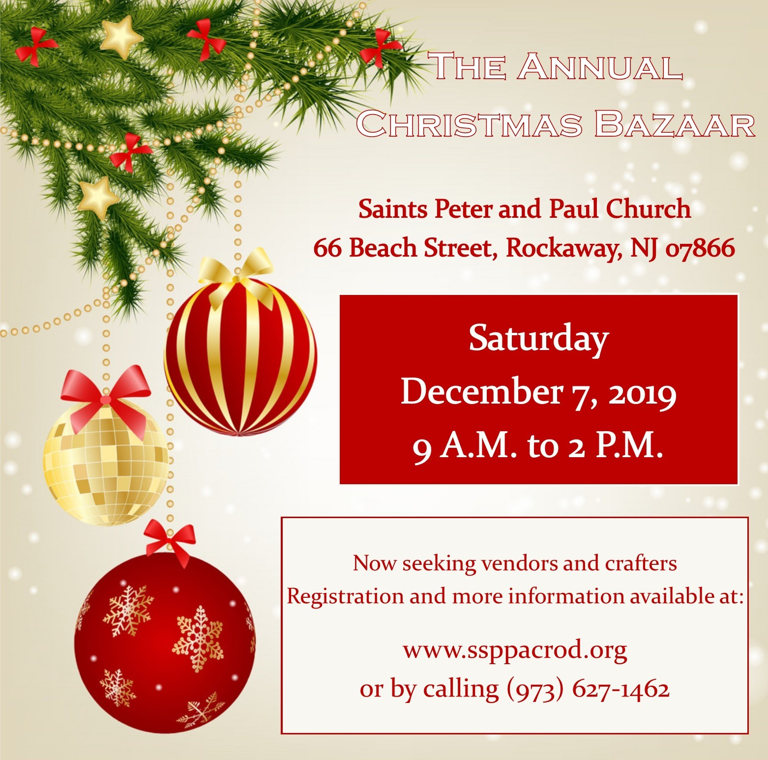 Orthodox Christmas 2019.Annual Christmas Bazaar Saints Peter And Paul Orthodox
